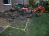 Day 2 - start - about 40% of footings dug out