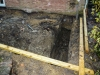 Day 3 - start - footings dug out - view 4