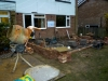 Start of Week 2 Day 2 - Brick laying has started