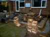 Start of Week 2 Day 2 - Brick laying has started (2)