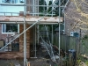 End of Week 3 Day 5 - 2 Scaffold erected