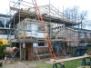 Start of Week 4 Day 3 - 1 - More scaffolding & roof trusses up