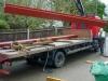 Week 4 Day 4 - unloading steel works