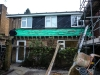 Week 9 Day 5 end - more work on replacing rear flat roof