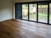 Week 18 Day 5 start - Garden room floor with 1st oil coating