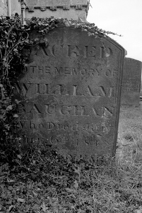 William Baughan 1767 - 1843 grave